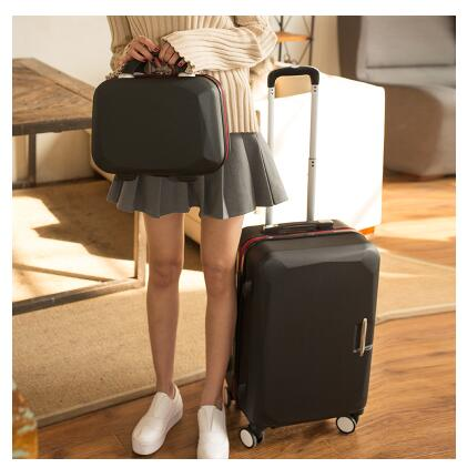 цена на Women Rolling Luggage Suitcase Woman 20