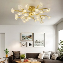 Modern LED Ceiling Chandelier Lighting Living Room Bedroom Chandeliers Creative Home Lighting Fixtures Free Shipping Iron Shade modern led ceiling chandelier lighting living room bedroom molecular chandeliers multiple heads creative home lighting fixtures