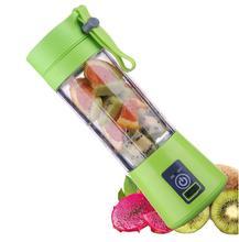 Аккумуляторная Блендер с usb-зарядкой соковыжималка мини-соковыжималка для фруктов блендер для фруктовых коктейлей машина Спортивная бутылка портативная 6 лезвий соковыжималка