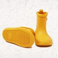 MAGGIE S WALKER Kids Rubber Rain Boots Super Light Children Boys Girls Rainboots Baby Cute Rainy