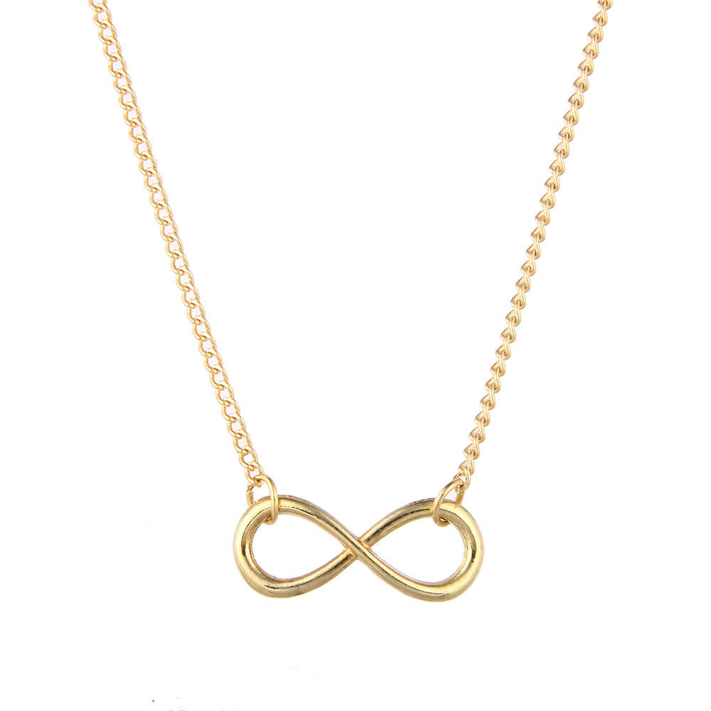 2020 Trendy Infinity Design Pendant Necklace Gold Chain Necklace Women Fashion Custom Statement Collares Gifts Jewelry Necklaces For Women Necklace Goldnecklace For Women Fashion Aliexpress