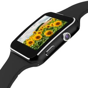 Image 3 - Câmera do Relógio inteligente M6 Muçulmano o Tempo Lembrando Lbs Local de Peregrinação Smartwatch relógio de Pulso Suporte Sim Card Tf