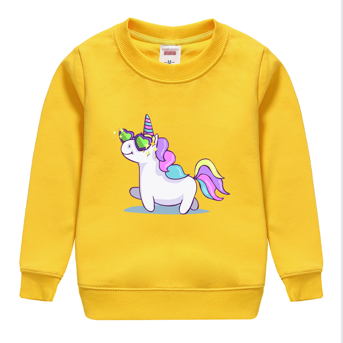 fashion style winter autumn sweatshirt long sleeve sweater with eight colors for child choose design for winter