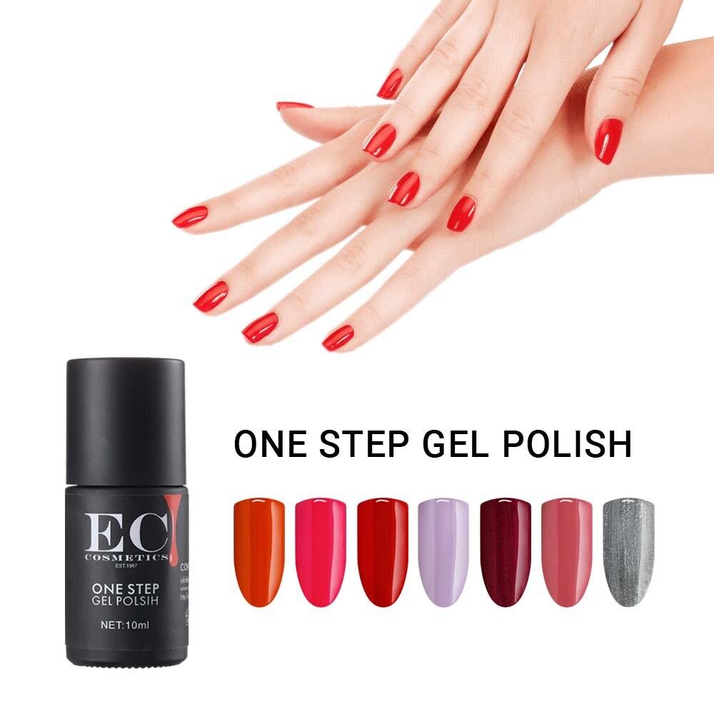 Gelike UV Gel Soak Off UV/LED 10ml One Step Gel  Polish No Need Top Coat And Base Coat Gel Varnish For Nail Art