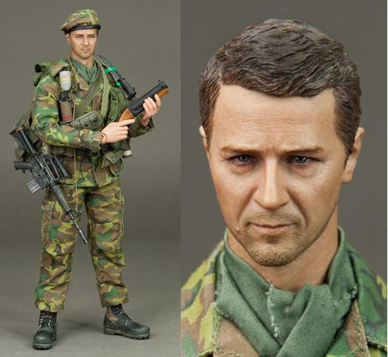1/6 figure doll Operation Dewey Caynon 1969-USMC 3rd Force Recon 12 action figure doll.Collectible figure toy model john dewey how we think