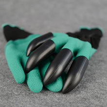 Garden-Gloves Claws Plant Digging Abs-Plastic Rubber with Genie Quick Easy-To-Dig And