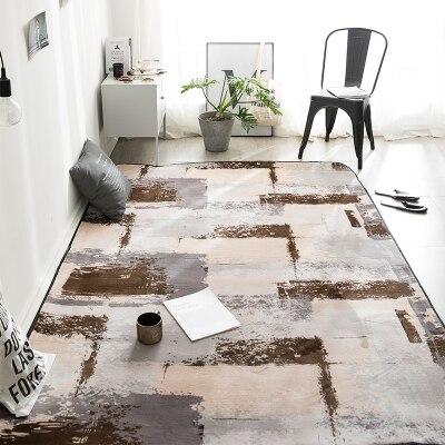 Nordic Style Memory Foam Geometric Mat Area rug Bedroom Rugs Carpet Doormat for Hallway Living Room Kitchen Floor Mats
