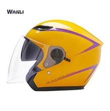 women or men Motorcycle Helmet   Open Face Moto Helmet Double Lens Motociclista Dirt Bike Helmet Casque Four Seasons недорого