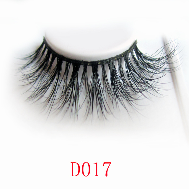 Free Shipping D017 Cannes 1pcslot 3d Strip Fur Real Mink Lashes In