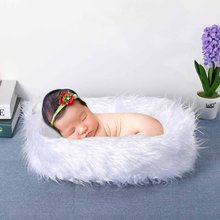 Baby Sleeping Soft Plush Mattress Toppers Blanket Newborn Bedding Photography Props Infant Child Bath Towl Sofa Bed Sitting Mats(China)