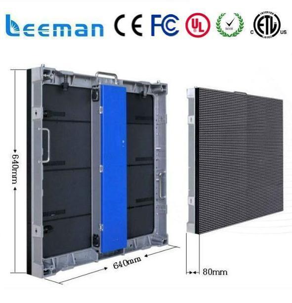 Leeman Waterproof Wood Panels Outdoor Good Price LED Screen Rental, P10 LED  Display Hire,