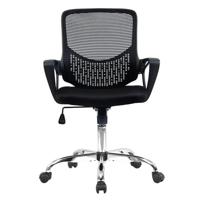Современная Эргономичная Сетка Середины Спины Исполнительный Компьютерный Стол Задача Офисные Кресла HW51435