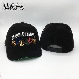Кепка WARBLADE 2020 BIGBANG, сделанная тур с той же секцией Олимпийских колец, бейсбольная кепка GD для мужчин и женщин, бейсболка в стиле хип-хоп