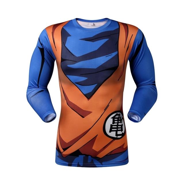 Dragon Ball Z Super Saiyan compression Tshirt