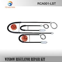 WINDOW REGULATOR COMPLETE CLIP SET FOR RENAULT MEGANE II CABRIOLET CONVERTIBLE WINDOW REGULATOR REPAIR KIT FRONT-LEFT