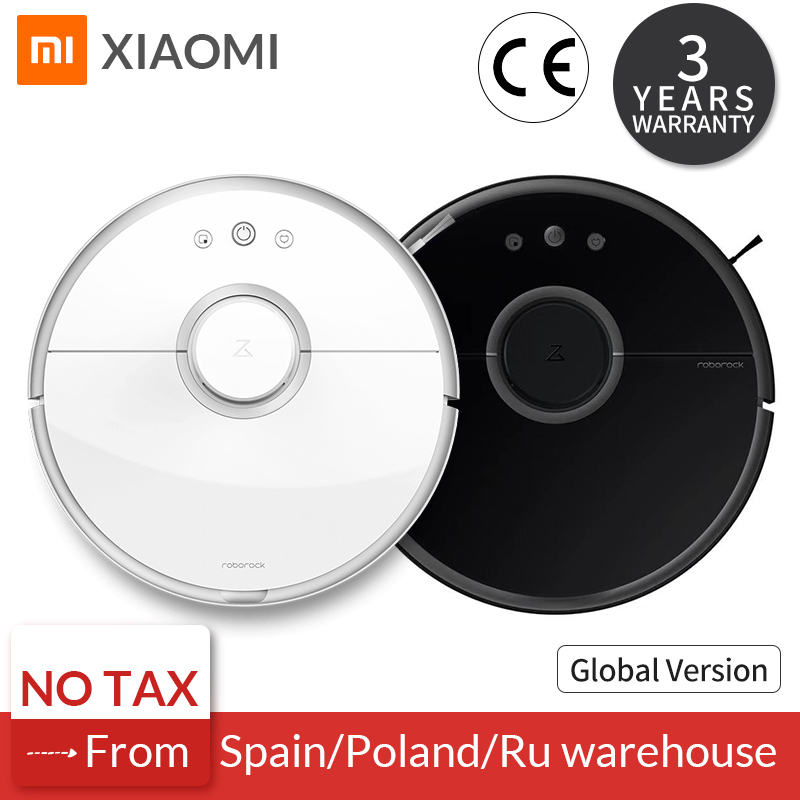 Roborock S50 S55 Xiaomi Vacuum Cleaner 2 for Home Sweeping Wet Mopping Robotic Dust Cleaner Smart