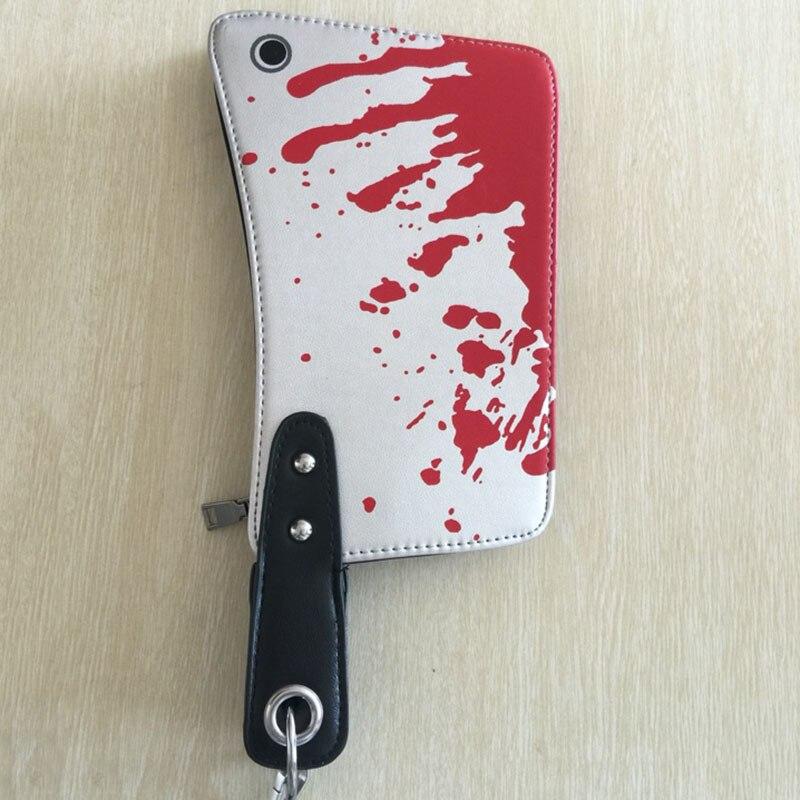 PU Taschen für Frauen Messer Lustige Tasche Jungen Mädchen Frauen Beutel Halloween Party Carteras Handtasche Damen Dollar Preis Brieftasche
