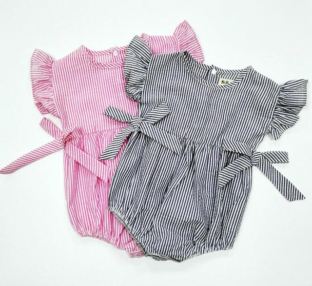 Oneasy 2016 Recém-nascidos Roupas de Bebê Macacão de Bebê Recém-nascido Roupas Macacão Infantil Próximo Bebê Corpo terno Do Corpo Do Bebê Geral Vestido Infa