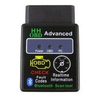 ELM327 V1.5 Bluetooth OBD2 Scanner v1.5 Elm 327 Bluetooth OBDII PIC18F25K80 Auto Auto Strumento Diagnostico Scanner Per Android/Finestre