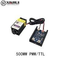500mw 405NM Focusing Blue Purple Laser Module Laser Engraving TTL Module 500mw Laser Tube Laser Module