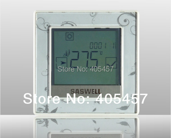electric underfloor heating room thermostat T12 FHL with 485 protol,Programmable LED display thermostat T12 FHL-7(EN)-485 valve radiator linkage controller weekly programmable room thermostat wifi app for gas boiler underfloor heating