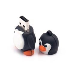 Penguin USB Flash Drive pendrive 16GB 32GB 64GB USB Memory Stick 8GB 4GB 2GB 1GB
