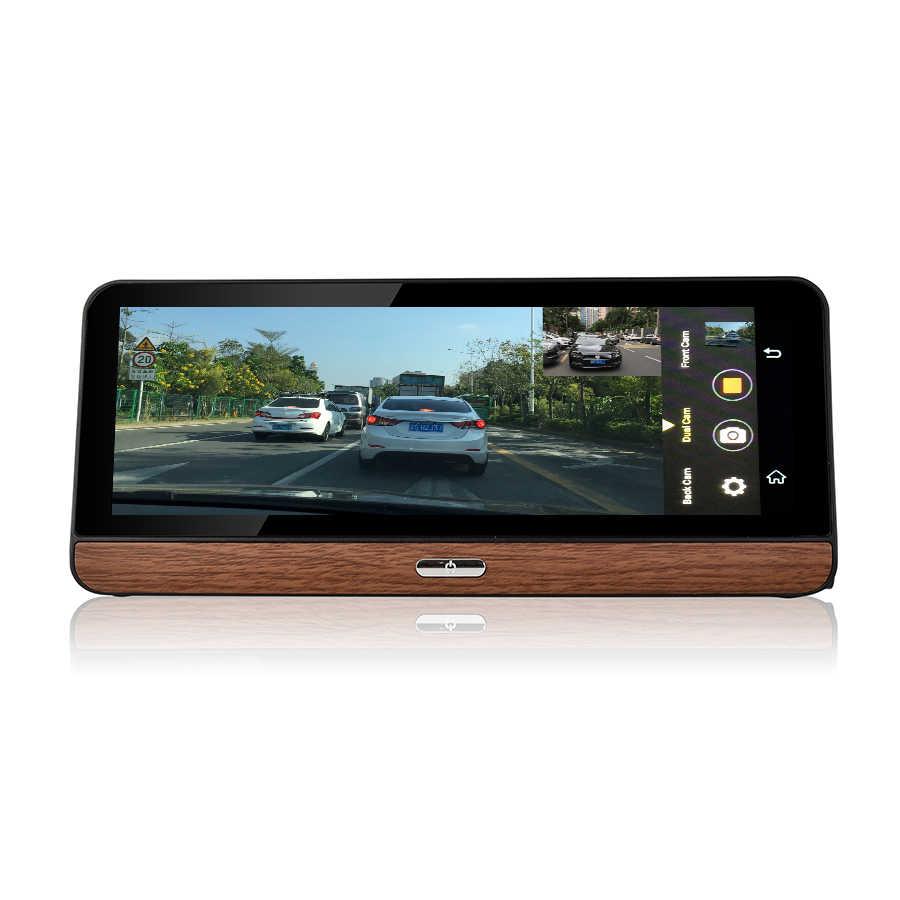 Udricare 8 بوصة 4G GPS الروبوت 5.1 WiFi بلوتوث 4G سيم بطاقة لوحة GPS 1080P DVR المزدوج عدسة الرؤية الخلفية كاميرا مسجل فيديو