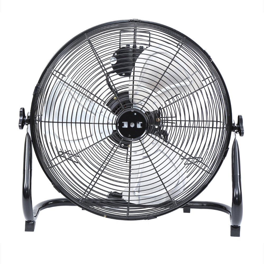 (Ship from EU) 18 Electric Floor Fan High Velocity Portable Air Cooling 3 Speed Tilting Home Industrial Fan (Ship from EU) 18 Electric Floor Fan High Velocity Portable Air Cooling 3 Speed Tilting Home Industrial Fan