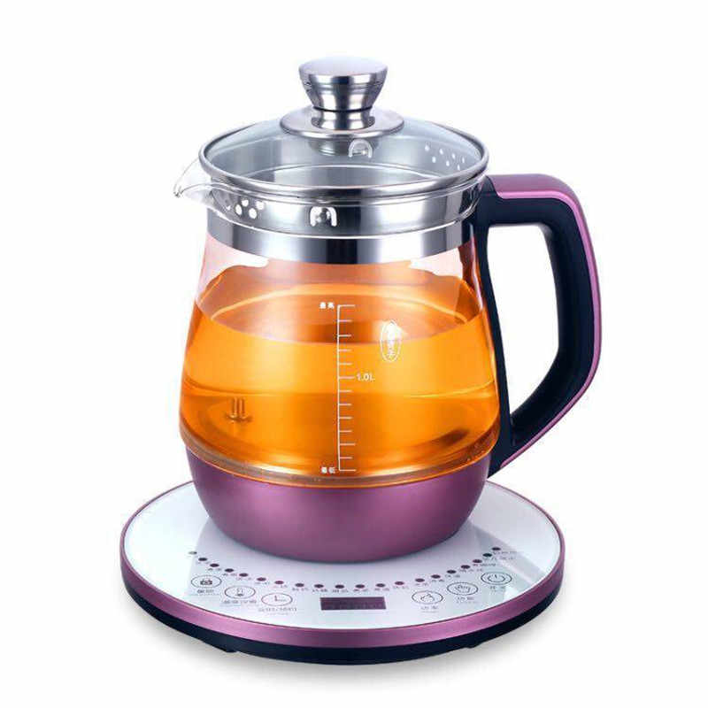 1200w Multi Function Health Pot Automatic Electric Kettle Thickened Glass Cooking Pot 24 Hours Reservation 2l