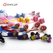 2017 new color style Cheap cartoon headset gift 	Anime headphone earphone gift