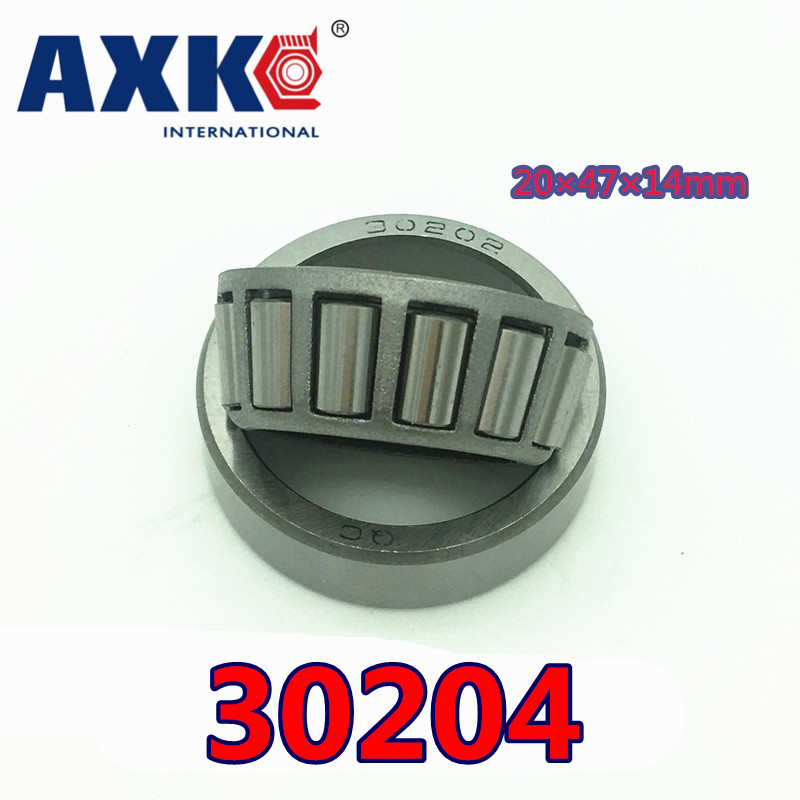 Free Shipping Axk Taper Roller Bearing 30204 20x47x14 Mm Tapered Roller Bearings, Single Row 20x47x14mm tapered roller bearings 32018 2007118e 90 140 32