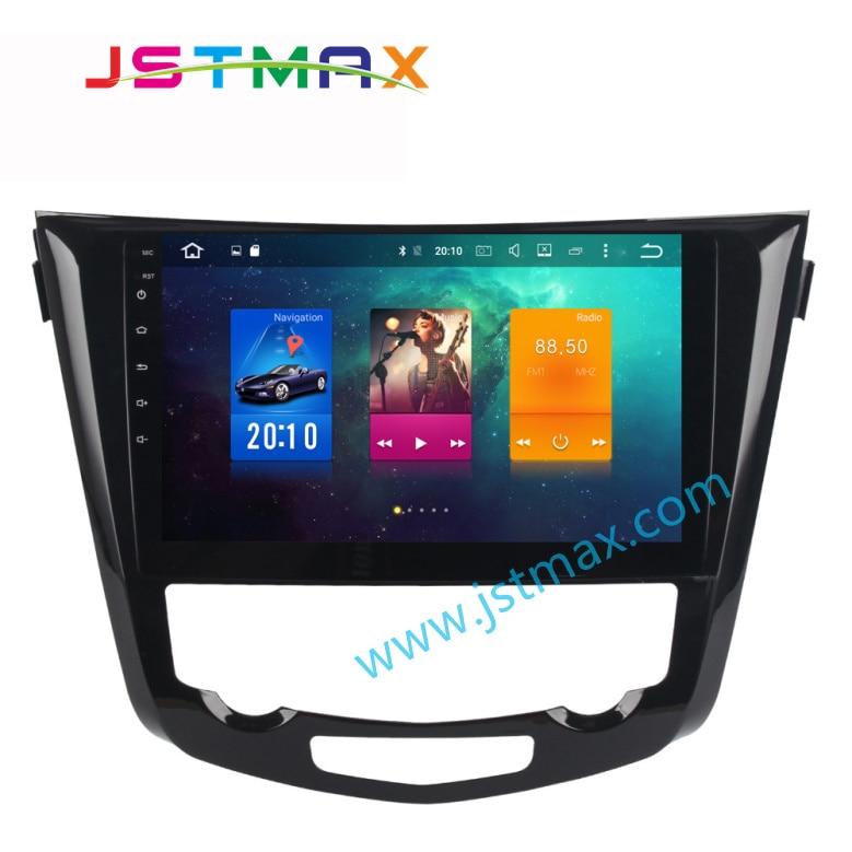 10.2 Android 8.0 Voiture GPS Radio Lecteur multimédia pour Nissan X-trail 2014-2017 4 GB Ram auto Radio Multimédia GPS NAVI Sans DVD