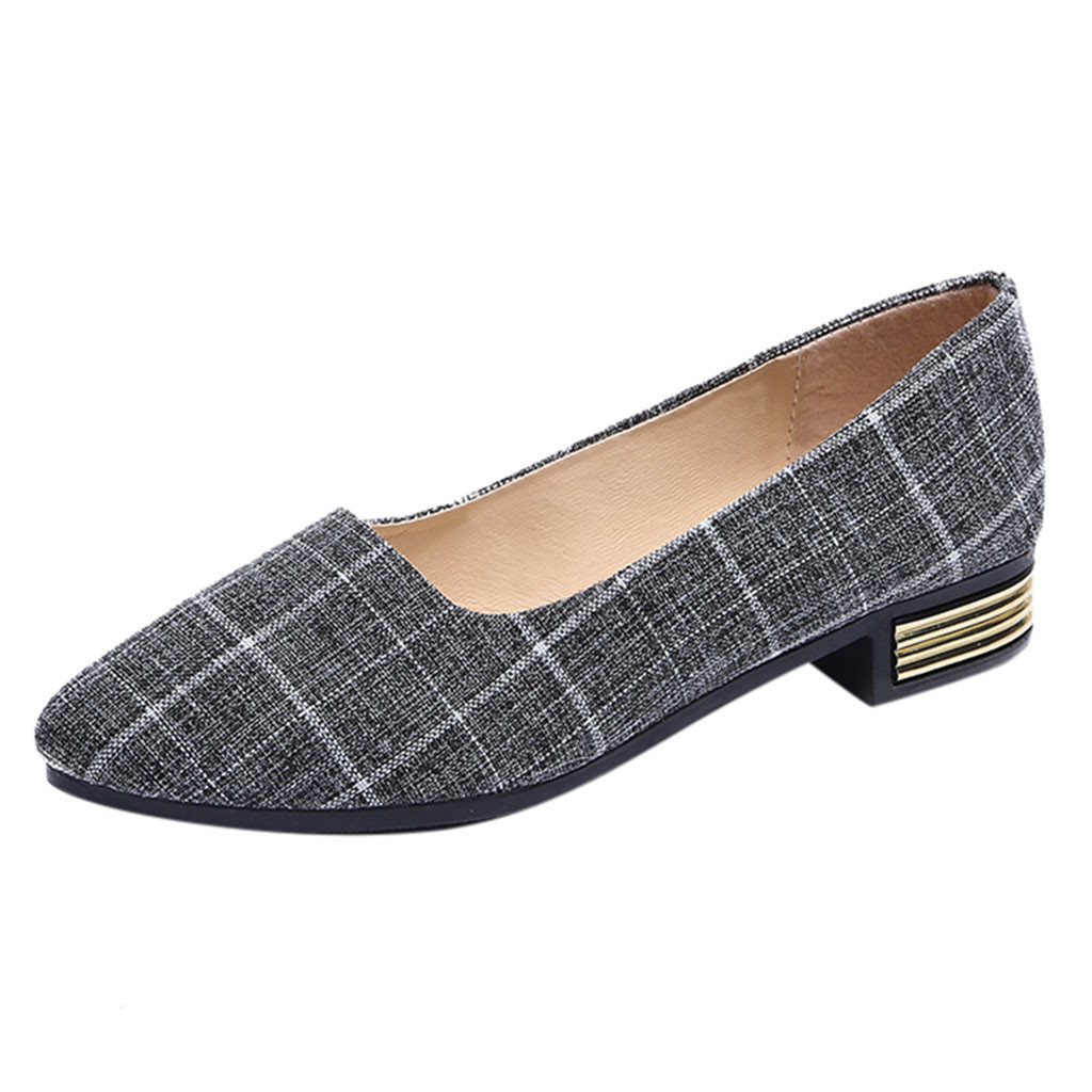 Casual Flat - Plaid Print - 2 Colors