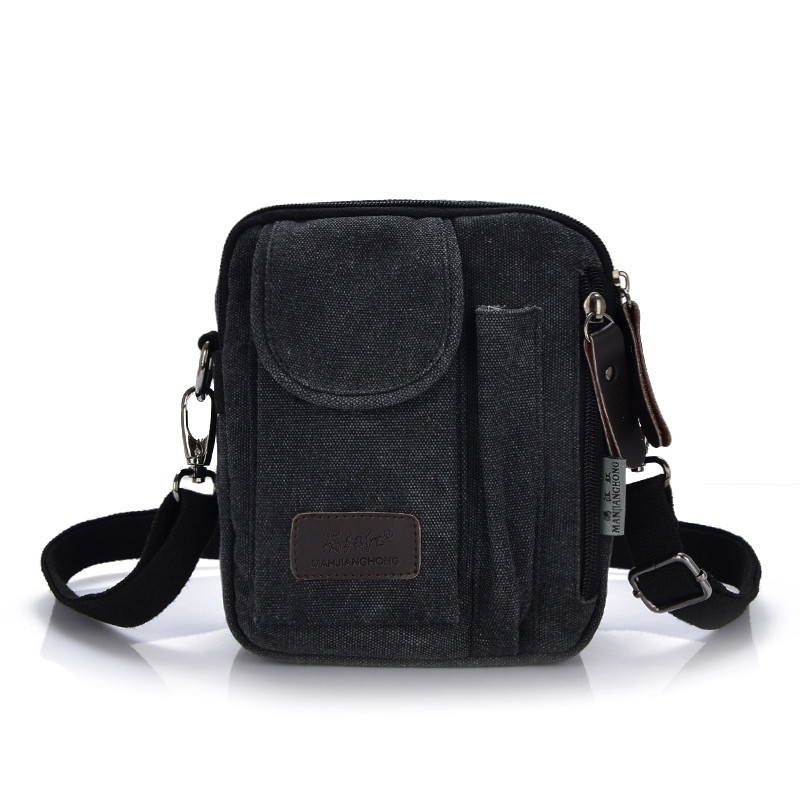 6ac252ed384 New Men s Crossbody Bags Best Quality Canvas Messenger Bags Men Leisure Shoulder  Bag Men Designer Small Mini Handbags Briefcase