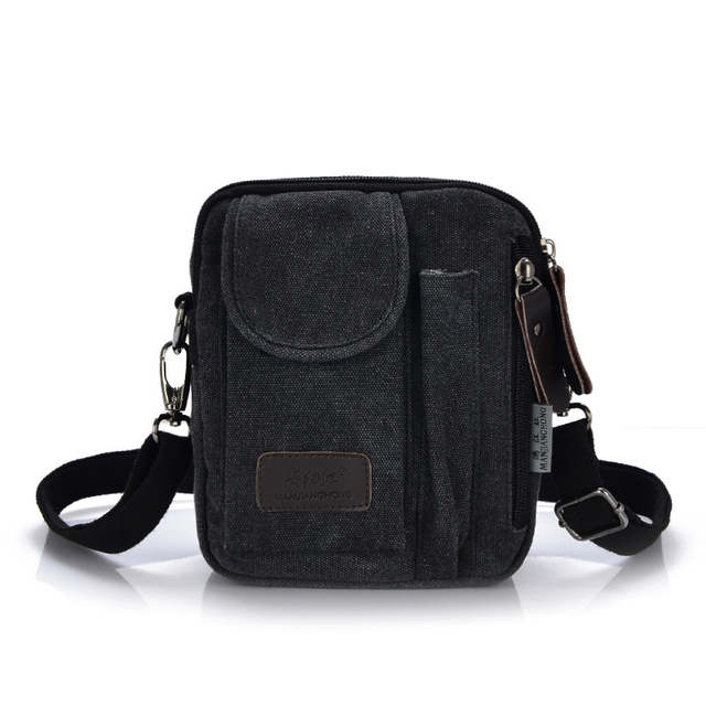 Us 14 2 34 Off New Men S Crossbody Bags Best Quality Canvas Messenger Leisure Shoulder Bag Designer Small Mini Handbags Briefcase In