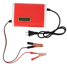 Practical Compact Structure Light weight Intelligent 12V 6A Car Motorcycle Battery Charger for 12-Volt Sealed Lead-Acid US Plug