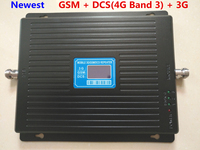 New 23 Dbm 65dbi Triband GSM 900 1800MHZ 2100MHZ Booster Repeater 4g DCS Repeater 3G Booster