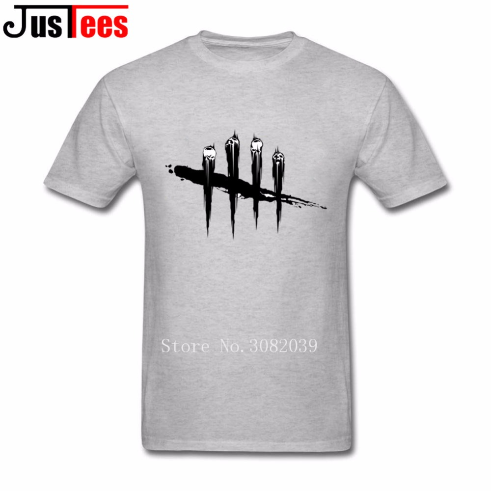 dead by daylight T Shirt Men Mans Homme Short Sleeve Crewneck Cotton Big Size Cryptocurr ...