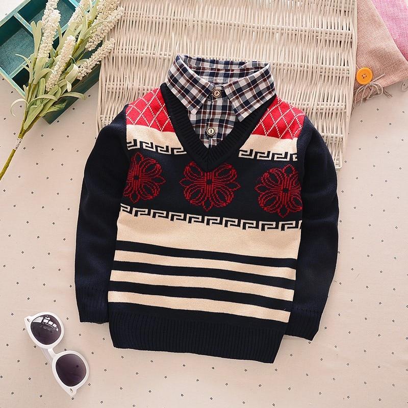 BibiCola-new-faul-Two-Pcs-fashion-baby-autumn-winter-sweater-clothes-baby-boysgirls-cardigan-sweater-coat-Childrens-sweater-2
