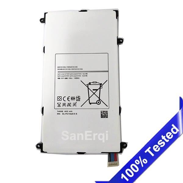 T4800E Pour Samsung Galaxy Tab Pro T325 T320 SM-T321 T321 8.4 dans Tablet Batterie 4800 mAh SanErqi