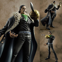 Megahouse One piece manga model toys ONE PIECE Sir Crocodile , Animation model toy. Gifts for children