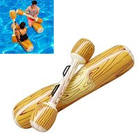 4Pcs/ Swimming Pool Float Game Inflatable Water Sports Bumper For Adult Children Party Gladiator Raft Summer Swimming Toy