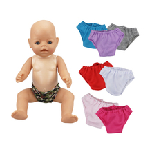 18 Inch Doll Knickers-cute Panties for My Little Baby-18/Life/Generation/new born Outfit-Toy Accessories Girl Gifts