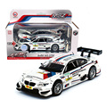 M3 DTM 1:32 Alloy Diecast Metal Brinquedo Do Carro Modelo Em Escala Miniatura modelo de Emulação de Som & Luz Elétrica Puxar Para Trás Do Carro de Presente Para meninos