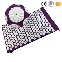Acupressure Shakti Mat 42nails Spike Acupuncture Pad Health Massage Mat Yoga Massager Relieve Mind Stress And