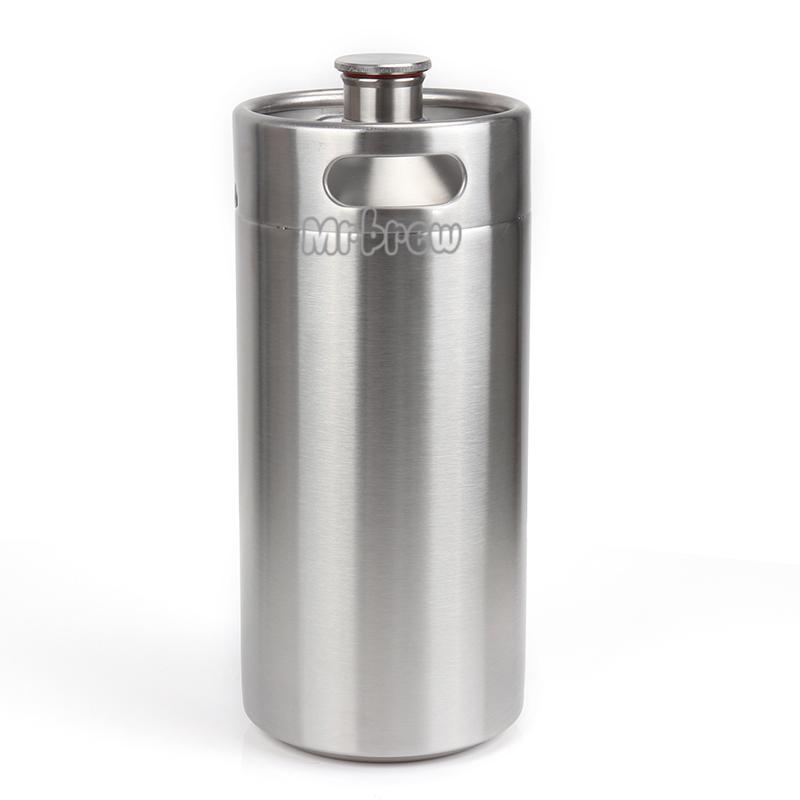 Stainless Steel Beer Mini Keg Set 10
