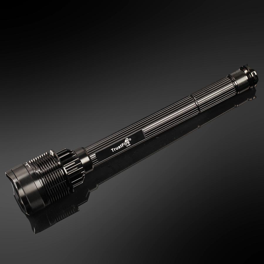 8000LM X-XM-L T6 Zoom lampe torche tactique LED lampe de poche EP