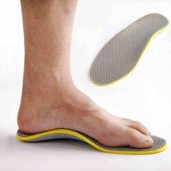 3D Premium Órteses TPU Palmilha Ortopédicos pé plano Palmilhas para Sapatos Confortáveis inserção pad Apoio Do Arco para a fascite plantar
