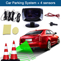 Hot Car Parking Sensor Alarm Radar Detector LED Display Screen 4 Sensors Monitor Auto Reverse Backup System Kit Alert Alarm