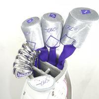 Новые женские Гольф клубы Maruman FL III Гольф клубы водитель + фарватера древесины + утюги + клюшка графит Гольф Вал бесплатная доставка